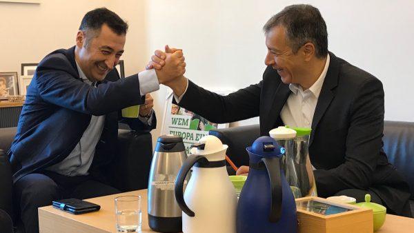 Με τον Cem Özdemir