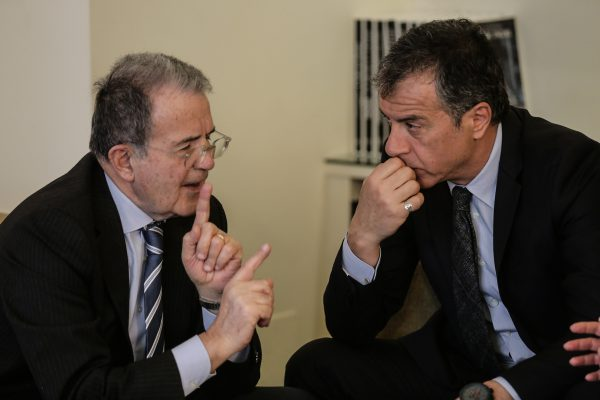 Με τον Romano Prodi