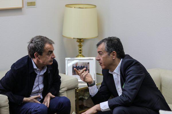 Με τον José Luis Rodríguez Zapatero