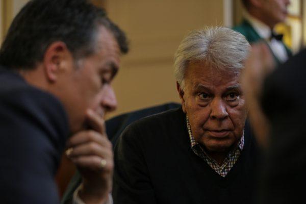 Με τον Felipe González